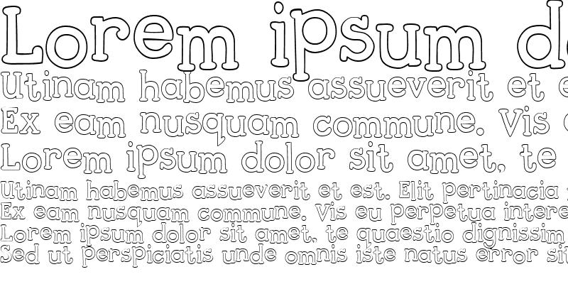 Sample of PC Typewriter