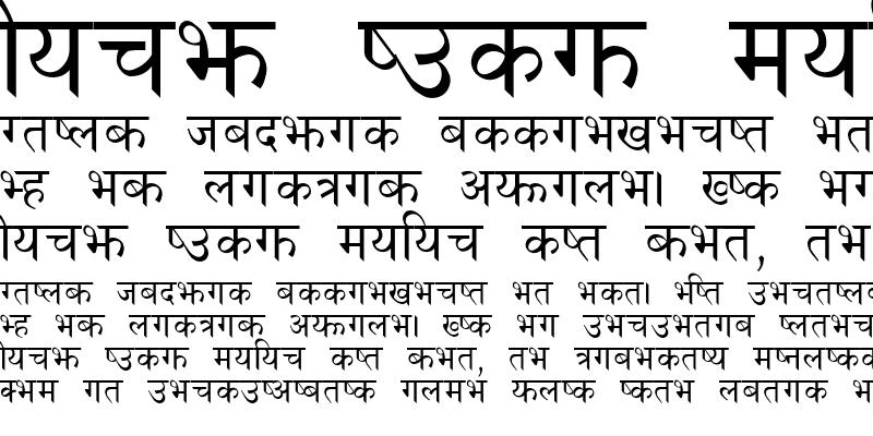 Sample of PCS NEPALI
