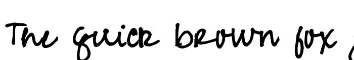 Preview of Pea Jean Script Regular