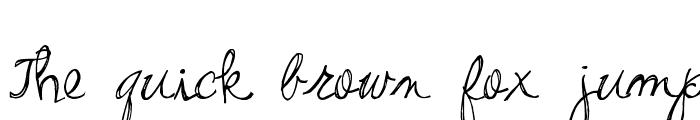Preview of Pea Stacy's Doodle Script Regular