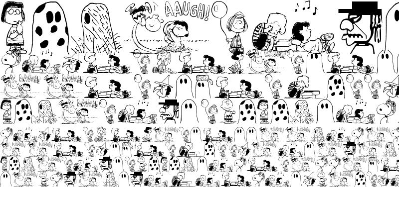 Sample of Peanuts Gang Dings Regular