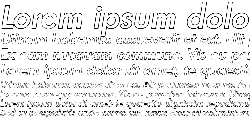 Sample of PeterBeckerOutline-Medium