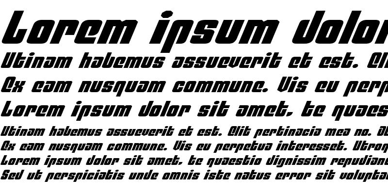 Sample of Philadelphia Exp Italic Exp Italic