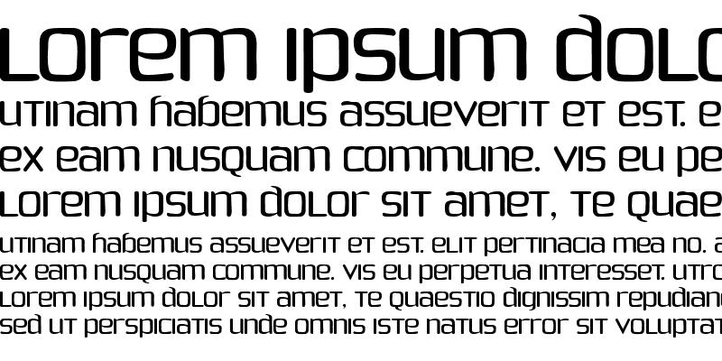 Sample of Phoenix Sans