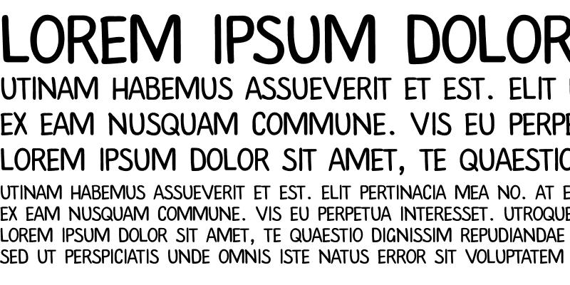 Sample of PlainScriptCTT