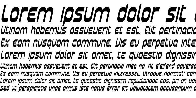 Sample of Plasmatica Cond Italic