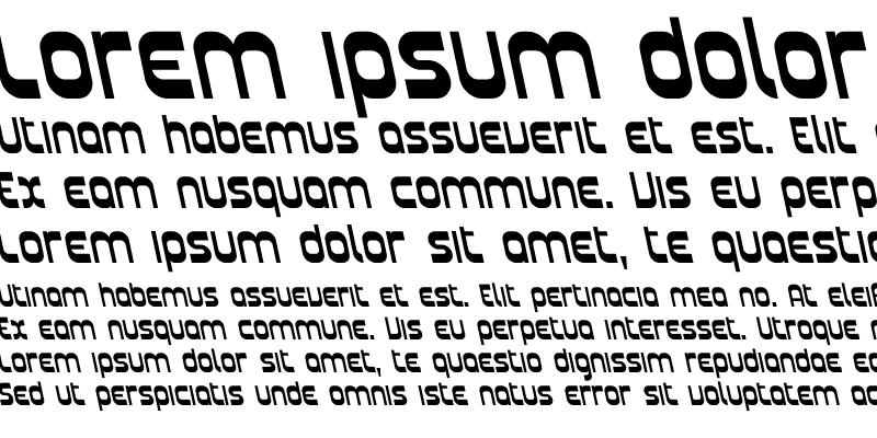 Sample of Plasmatica Rev Italic