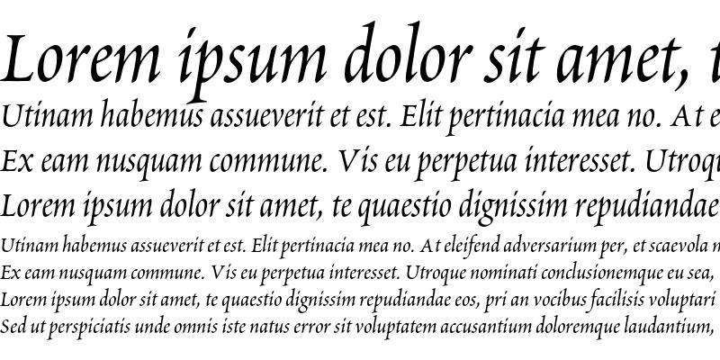 Sample of Poetica Chancery I