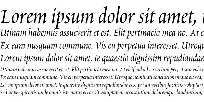 Sample of Poetica Chancery II