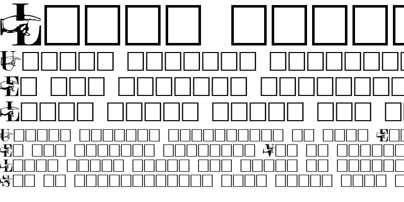 Sample of POINTER CAPS REGULAR