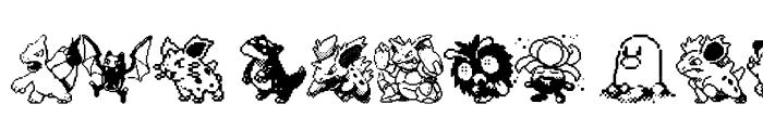 Preview of Pokemon pixels 1 Regular
