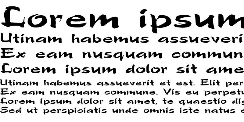 Sample of Polo-SemiScript Ex Regular