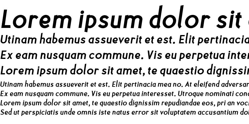 Sample of Polymer Bold Italic