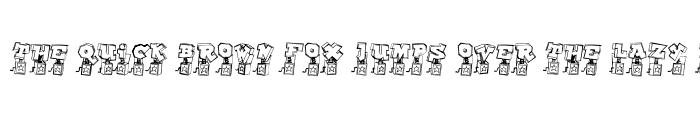 Preview of Pop Up Fontio Regular
