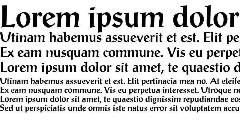 Sample of PostAntiquaBE-Medium Medium