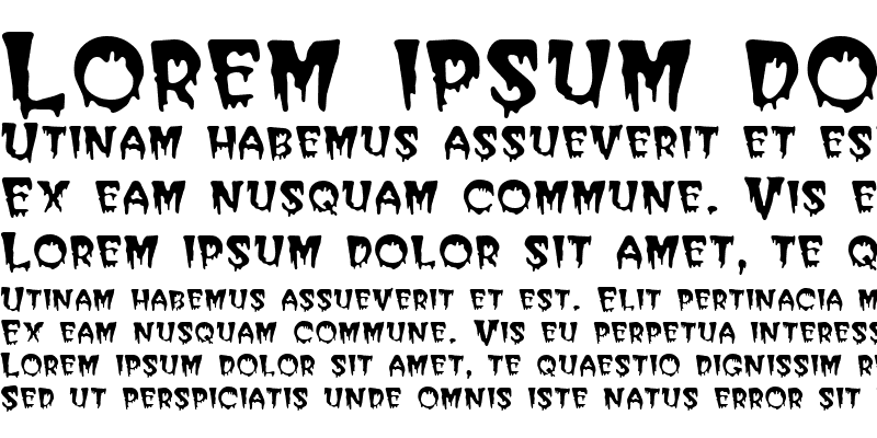 Sample of PostCrypt Regular