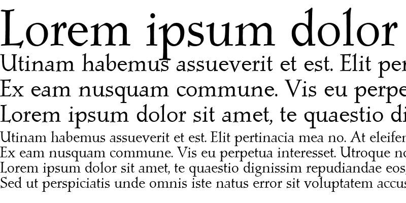 Sample of PostMediaeval Roman