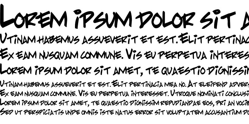 Sample of PP Handwriting