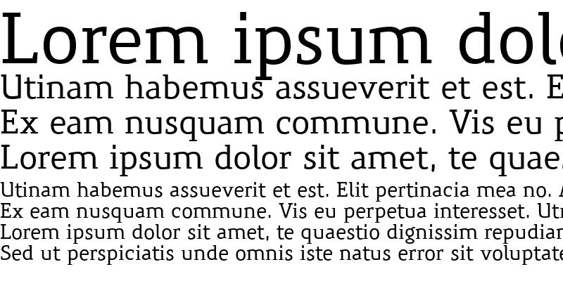 Sample of PreciousSerifMedium Regular