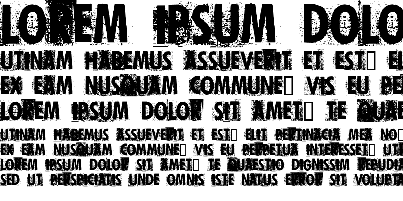Sample of Print Error Regular
