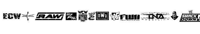 Preview of Pro Wrestling Logos Regular