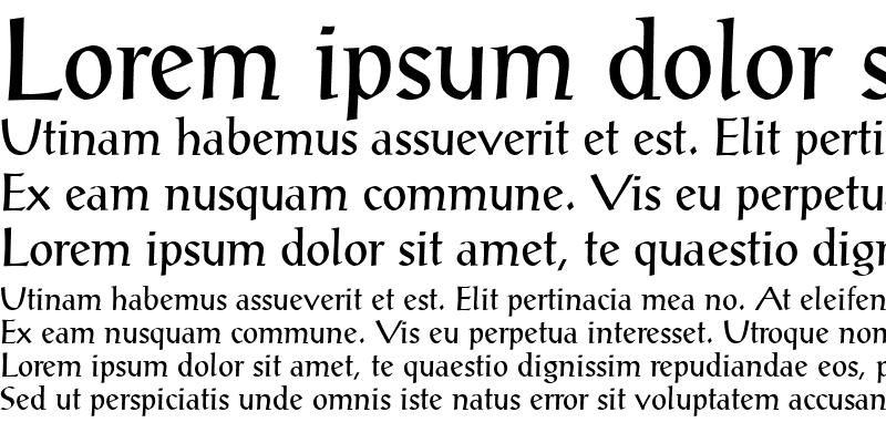 Sample of ProseAntique