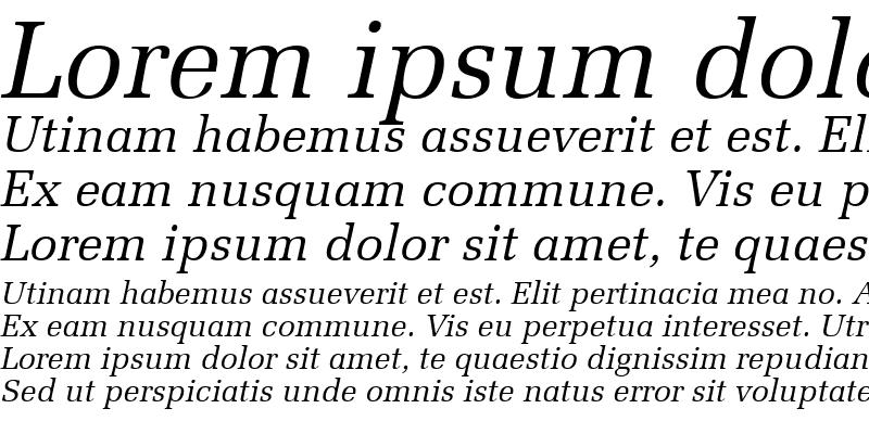 Sample of Protocol SSi Italic