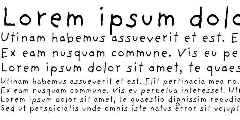 Sample of Providence Sans Regular