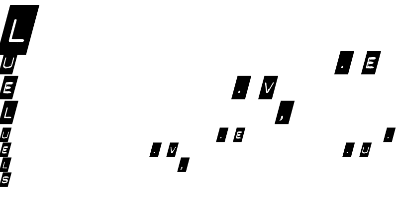 Sample of Punch Label Italic