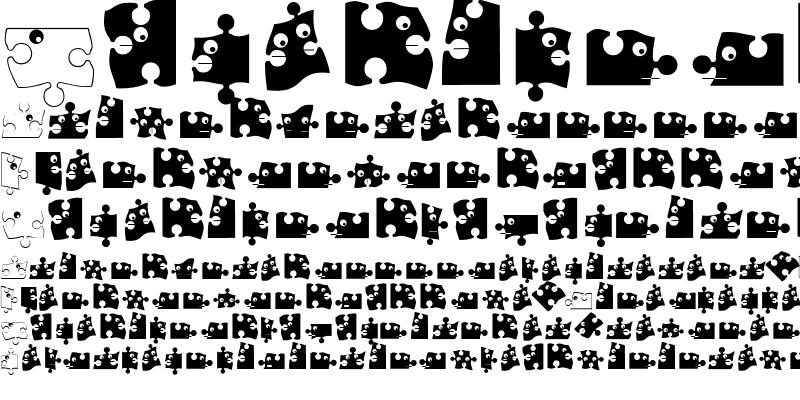 Sample of PuzzleParts