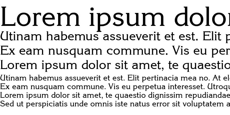 Sample of QTKorrin Regular