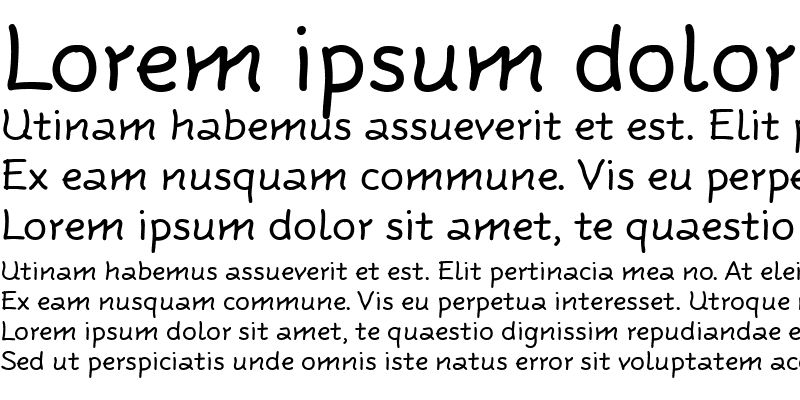 Sample of Rattlescript-Regular