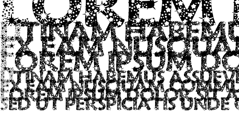 Sample of RazzleDazzle Regular