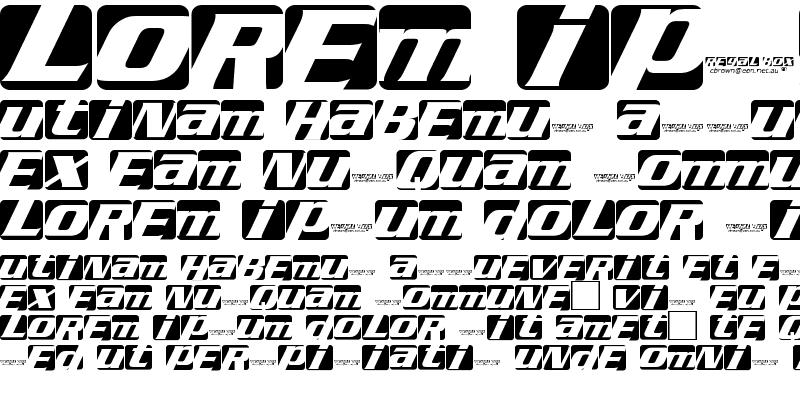 Sample of Regal box