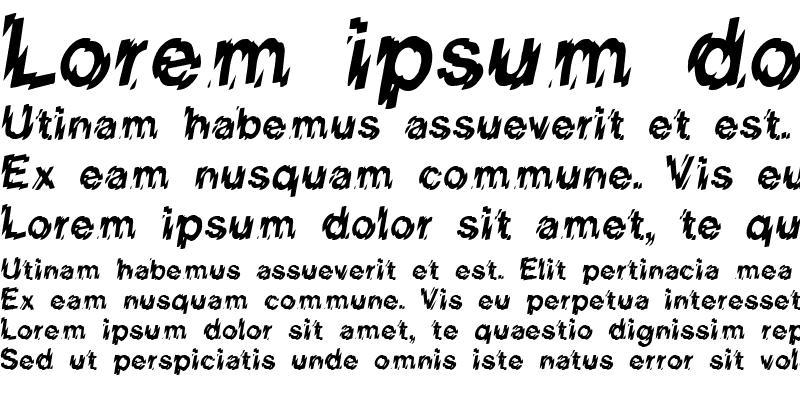 Sample of REGINIA