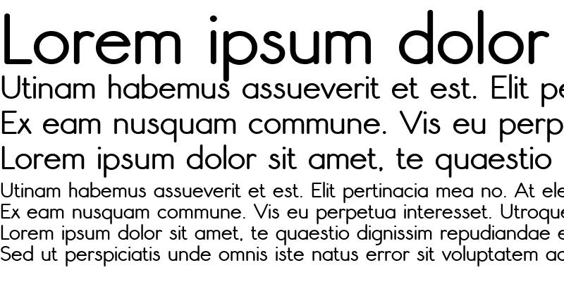 Sample of Register Sans BTN Bold