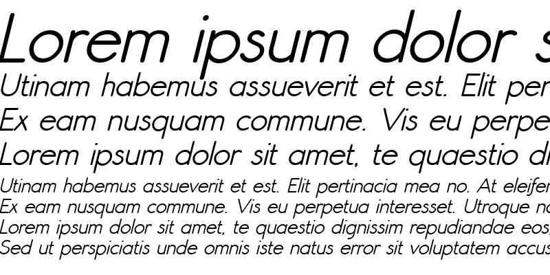 Sample of Register Sans BTN Dm Oblique