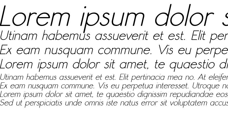 Sample of Register Sans BTN Oblique