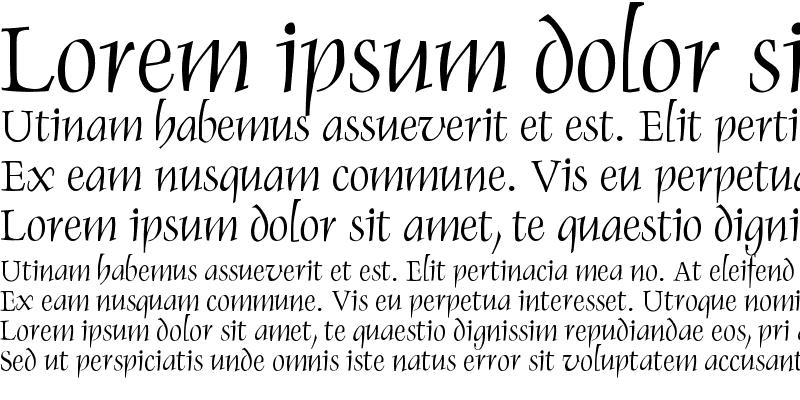 Sample of Renaiss-Italic