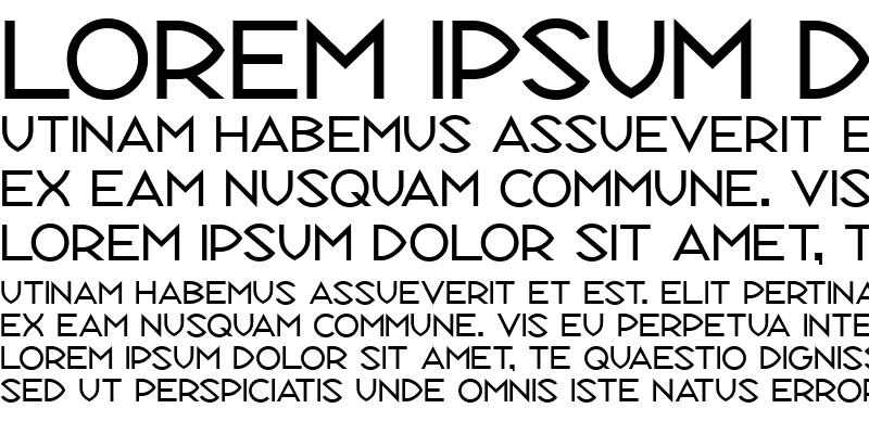 Sample of Republik Sans ICG 01 Regular