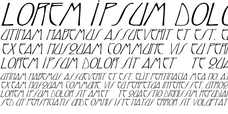 Sample of ReynoldCaps Wd italic Italic