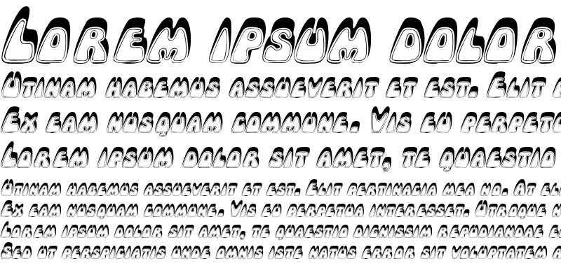 Sample of RobleRoundedSCapsSSK Italic