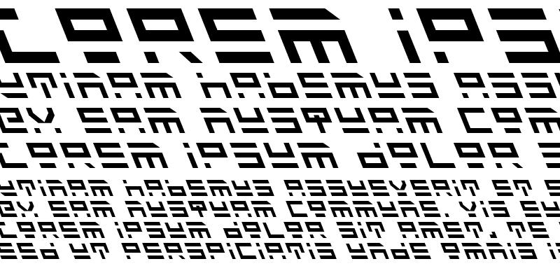 Sample of Rocket Type Leftalic