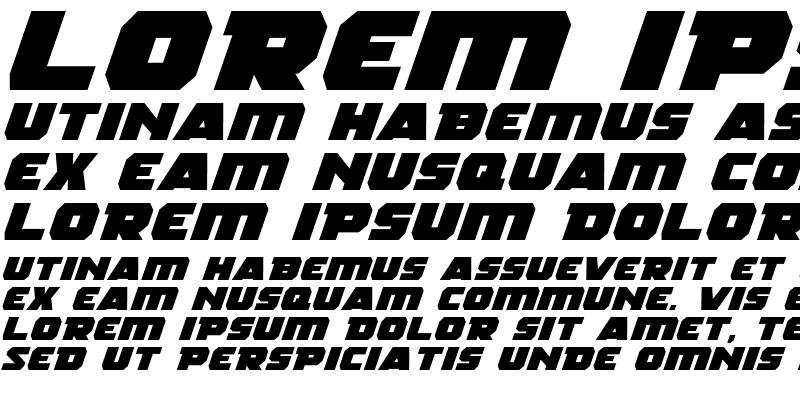 Sample of Rogue Hero Expanded Italic Expanded Italic
