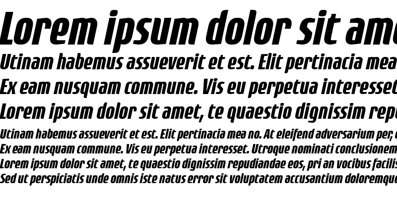 Sample of Rogue Sans Cond