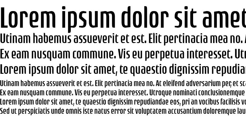 Sample of Rogue Sans Cond Light