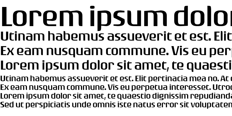Sample of Rogue Sans Ext Light