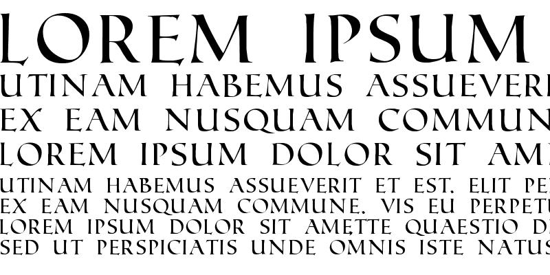Sample of Roman SD