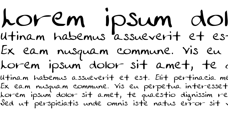 Sample of RoslinsHand
