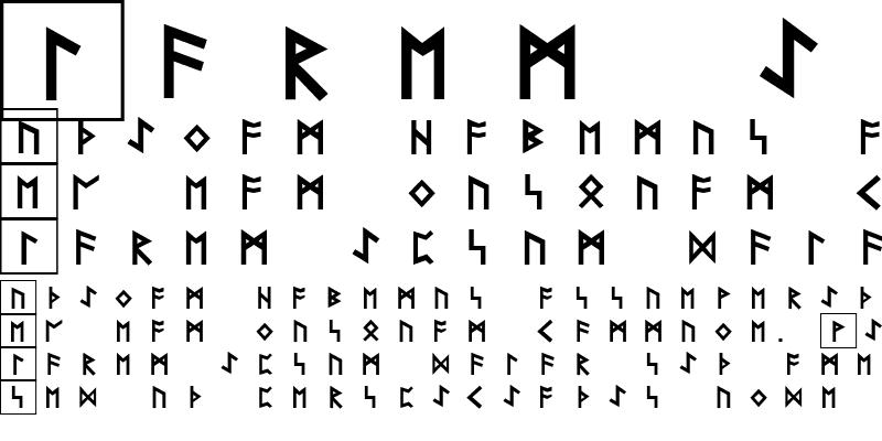 Sample of Rune Becker